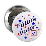 Future Voter Kids Light Button