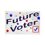 Future Voter Kids Light Rectangle Magnet