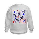 Future Voter Kids Light Kids Sweatshirt