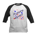 Future Voter Kids Light Kids Baseball Jersey