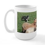Tsuki's Bunch of Sheep Large Mug