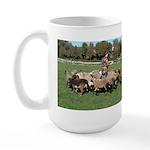 Working the Sheep Large Mug