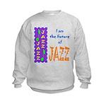 Future of Jazz Kids Light Kids Sweatshirt
