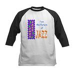 Future of Jazz Kids Light Kids Baseball Jersey