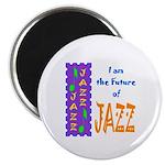 Future of Jazz Kids Light Magnet
