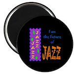 Future of Jazz Kids Dark Magnet