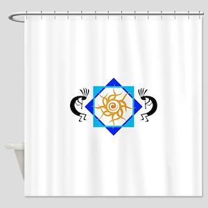 TRIBAL SUN HOPI Shower Curtain