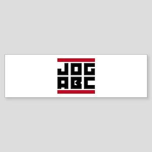 Jog ABC Sticker (Bumper)