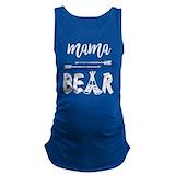 Mama bear Dark Maternity Tank Top