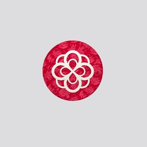 Alpha Omicron Pi Symbol Mini Button