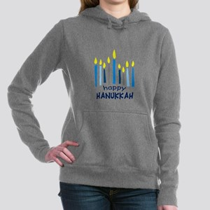 HAPPY HANUKKAH Women's Hooded Sweatshirt