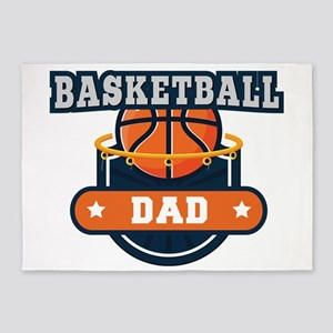 Basketball Dad 5'x7'Area Rug