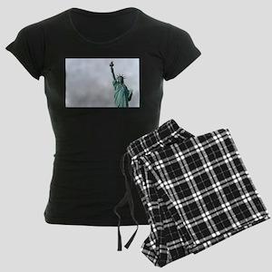 The Statue of Liberty NYC Pr Women's Dark Pajamas