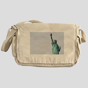 The Statue of Liberty NYC Pro photo Messenger Bag