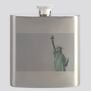 The Statue of Liberty NYC Pro photo Flask