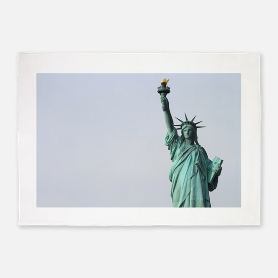 The Statue of Liberty NYC Pro photo 5'x7'Area Rug