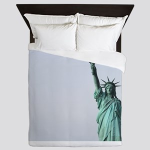 The Statue of Liberty NYC Pro photo Queen Duvet