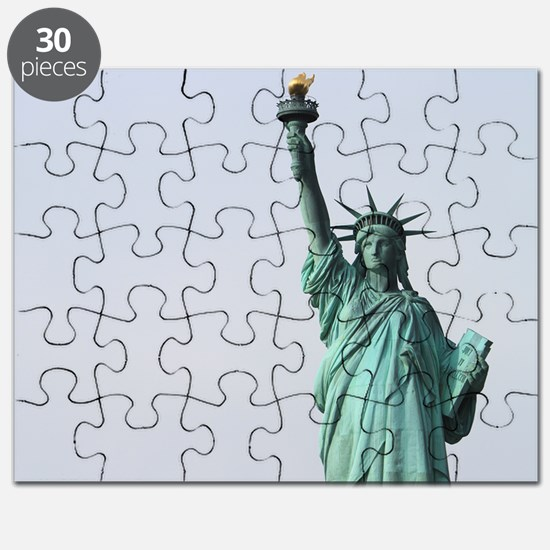 The Statue of Liberty NYC Pro photo Puzzle