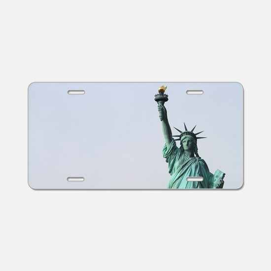 The Statue of Liberty NYC P Aluminum License Plate