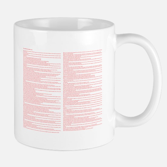 Top 100 Bible Verses 3 white Mugs
