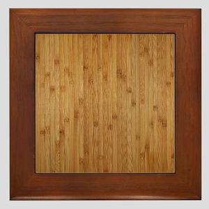 Bamboo Framed Tile