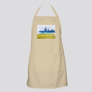 Air Brush Painted Chicago Skyline Apron