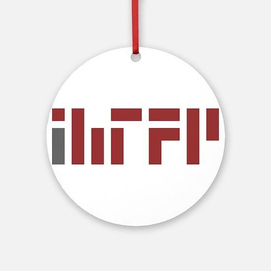 IHTFP Ornament (Round)
