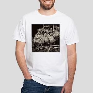 Vintage Hay Wagon White T-Shirt
