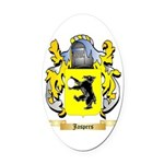 Jaspers Oval Car Magnet