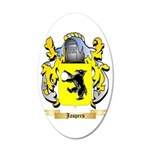 Jaspers 35x21 Oval Wall Decal