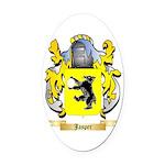 Jasper Oval Car Magnet