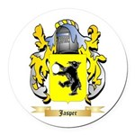 Jasper Round Car Magnet