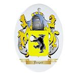 Jasper Ornament (Oval)