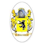 Jasparsen Sticker (Oval 50 pk)