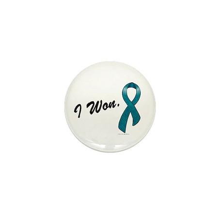 I Won Ovarian Cancer Survivor Mini Button (100 pac