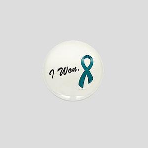 I Won Ovarian Cancer Survivor Mini Button
