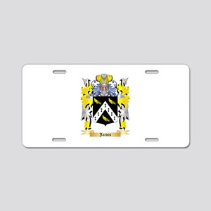 Jarvis Aluminum License Plate