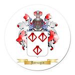 Jarnagin Round Car Magnet