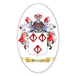 Jarnagin Sticker (Oval 50 pk)