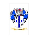 Jarmain Sticker (Rectangle 10 pk)