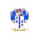 Jarmain Sticker (Rectangle 50 pk)