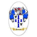 Jarmain Sticker (Oval)