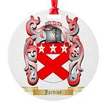 Jardine Round Ornament