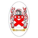 Jardine Sticker (Oval)