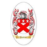 Jardine Sticker (Oval 50 pk)