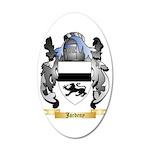 Jardeny 35x21 Oval Wall Decal