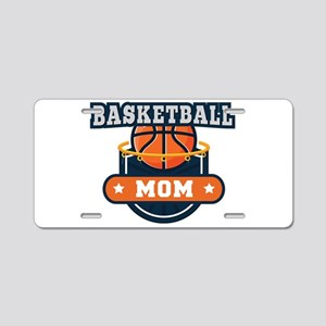 Basketball Mom Aluminum License Plate