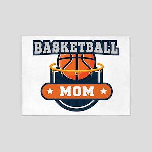 Basketball Mom 5'x7'Area Rug