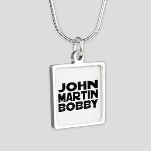 JMB Silver Square Necklace