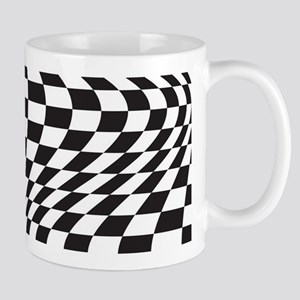 Op Art Checks Mugs